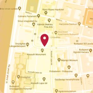 Tantra masszázs helyszíne, Tantra Templom a térképen